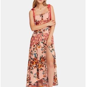 Brand new free people lover bay maxi dress Sz 12
